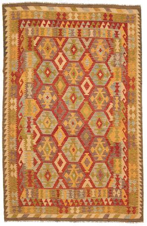 Kilim Afgán Old style szőnyeg 200x304