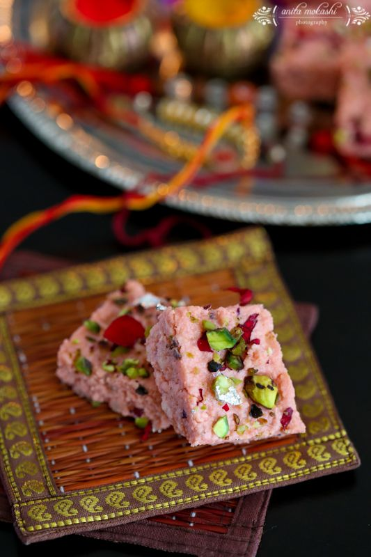 Rose Kalakand Recipe Rakshabandhan Special