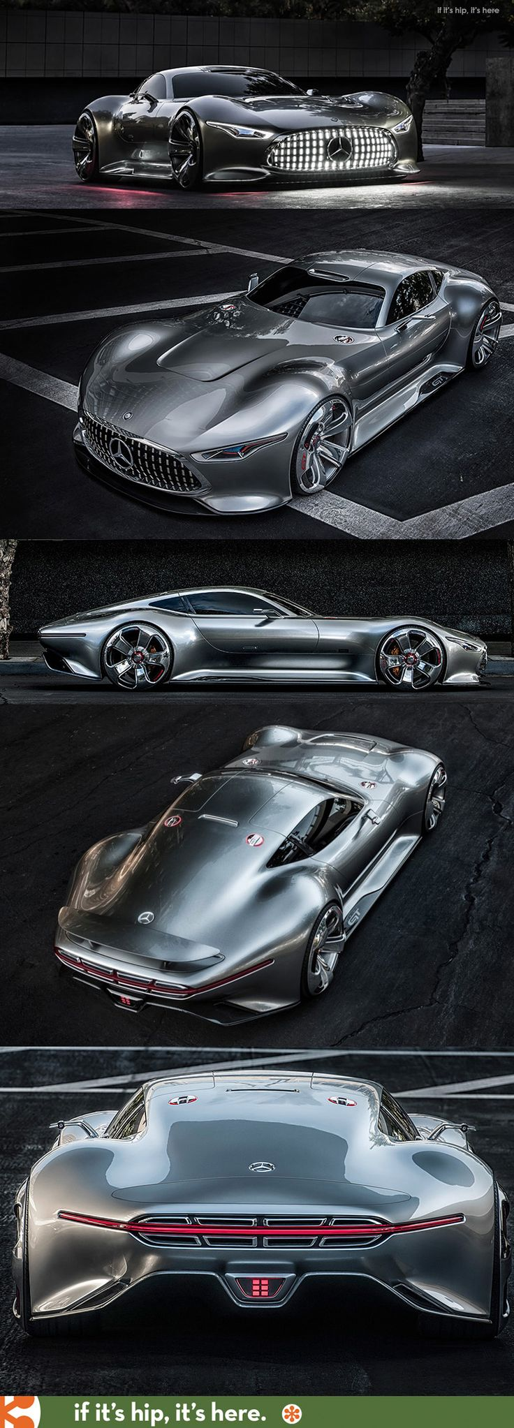 Mercedes Benz Designs A Wicked Car Inspired By A Video Racing Game: The AMG  Vision Gran Turismo. This Might Be My New Favourite Car!