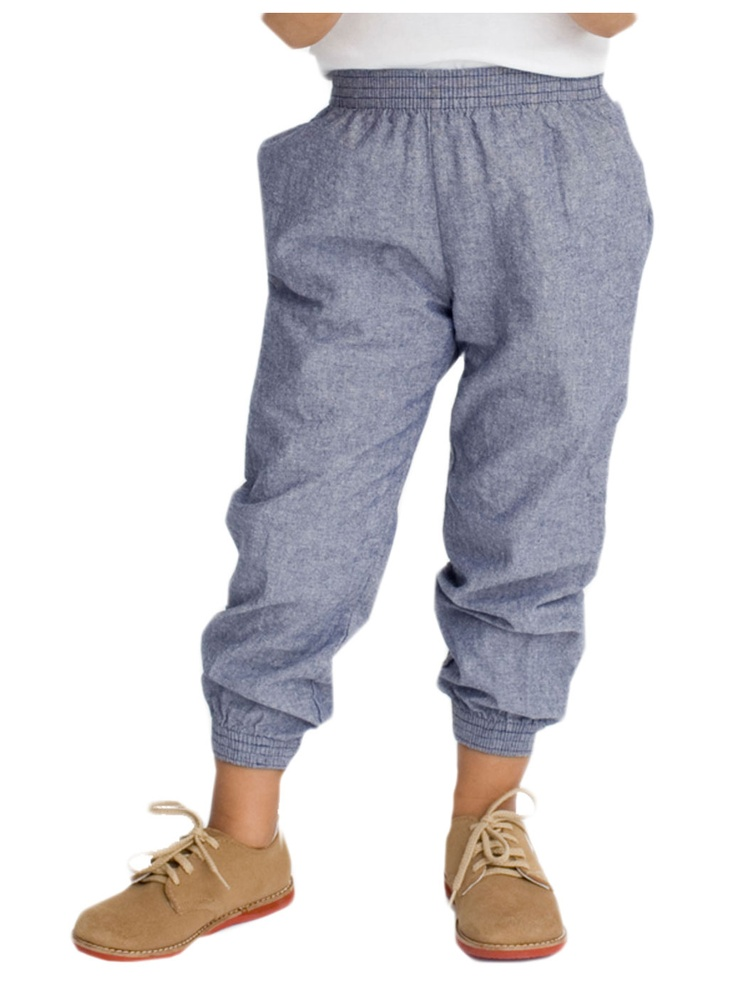 american apparel kids chambray jumper pant baby bout
