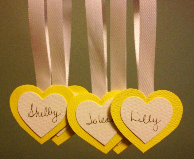 Nametgags | Custom Heart Nametags