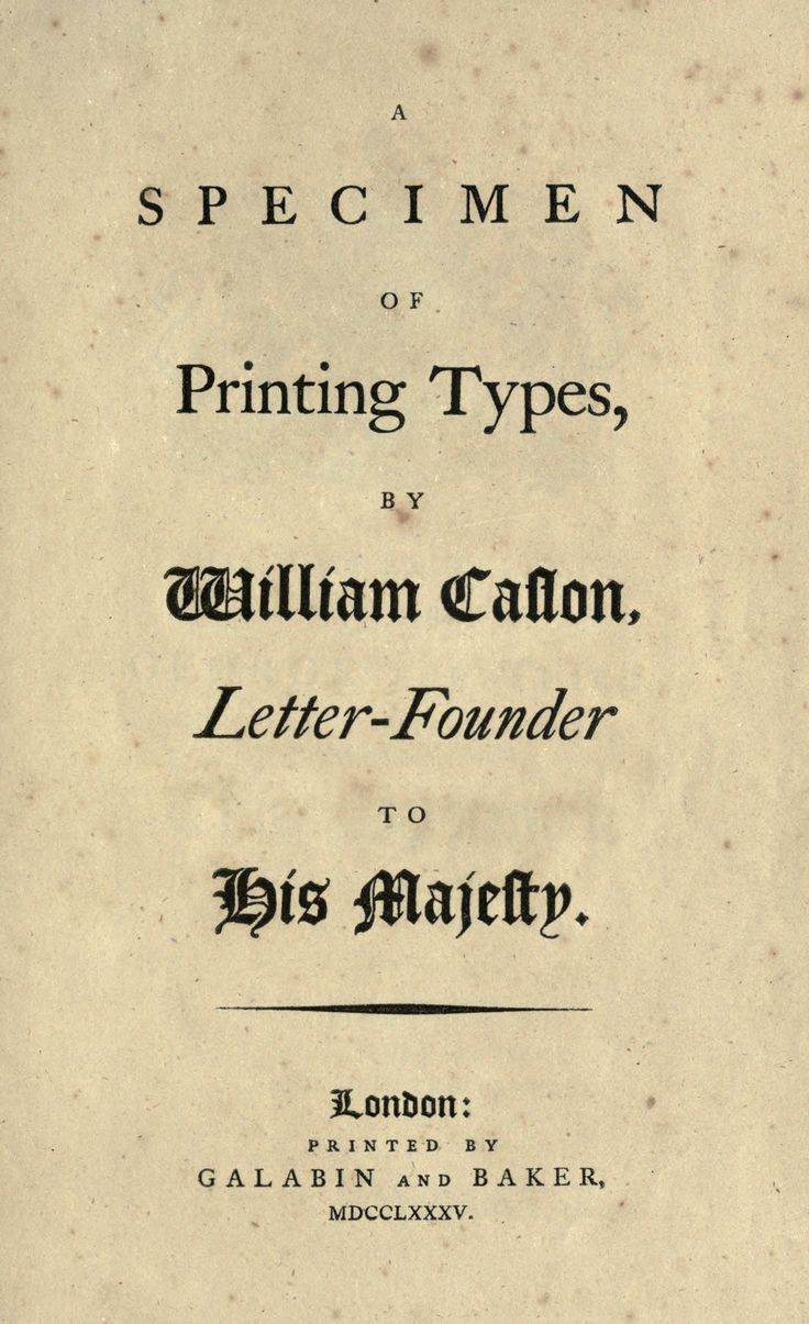 types of letters 21 best william caslon 1692 1766 images on 1692