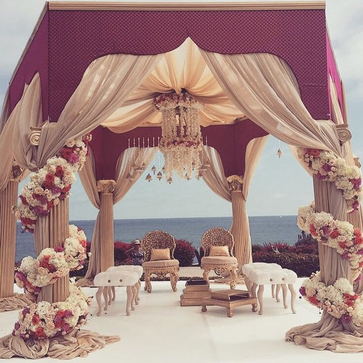 Wedding Decoration Ideas In India: 17 Best Ideas About Wedding Mandap On Pinterest