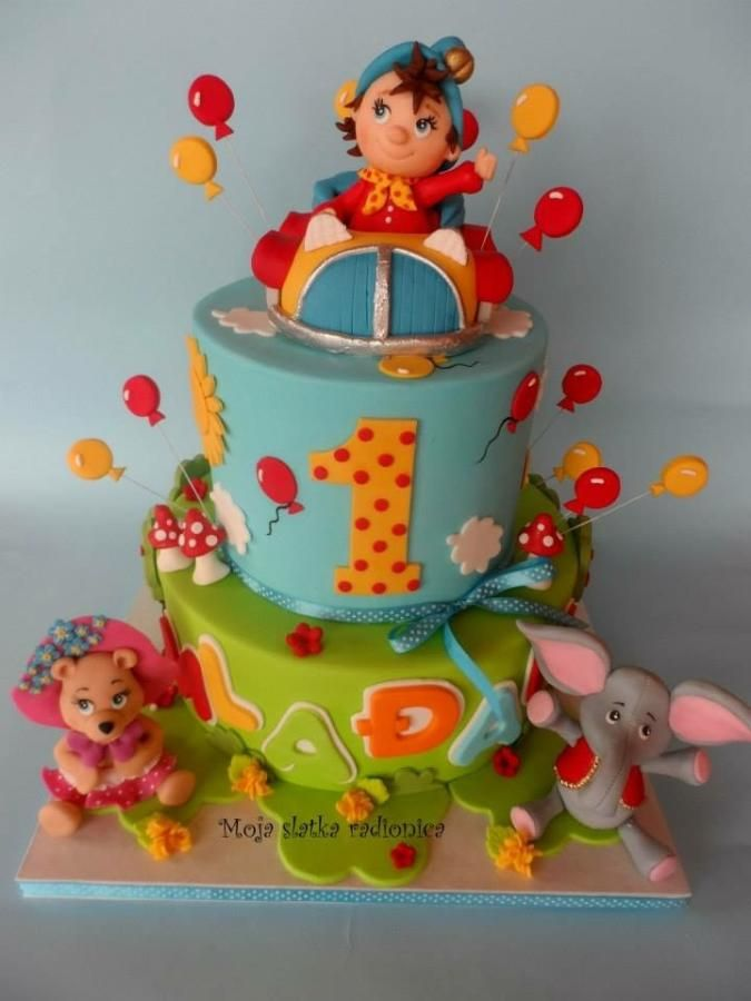 Noddy cake by Branka Vukcevic