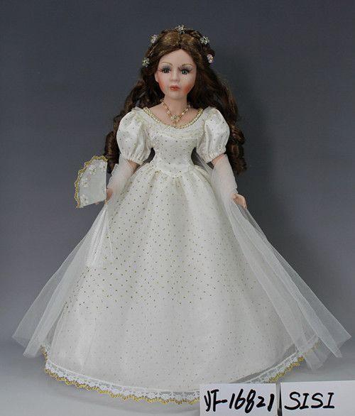 美屋家居摆件 陶瓷洋娃娃 16寸白雪公主 结婚生日过节 创意礼品-淘宝网