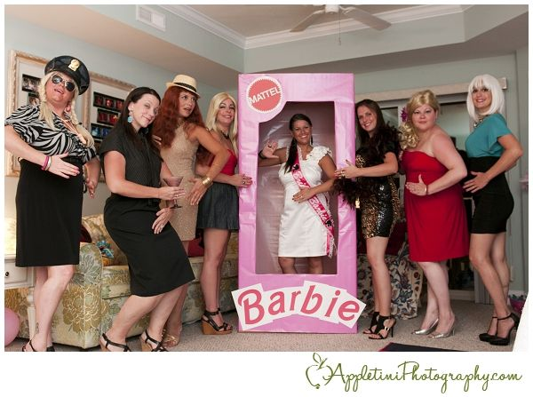 Have a Barbie themed bachelorette party #bachelorette #party #wedding