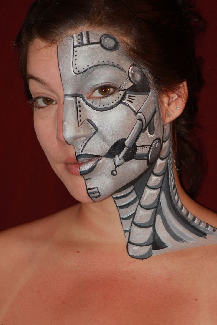 Great face paint.  Another good one for boys!