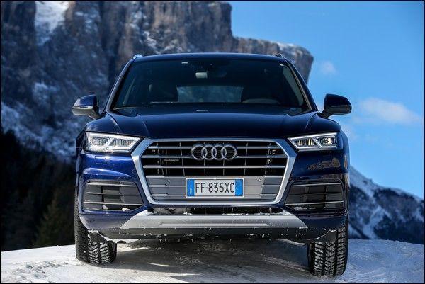 Nuova Audi Q5 prende le 5 stelle ai test Euro NCAP