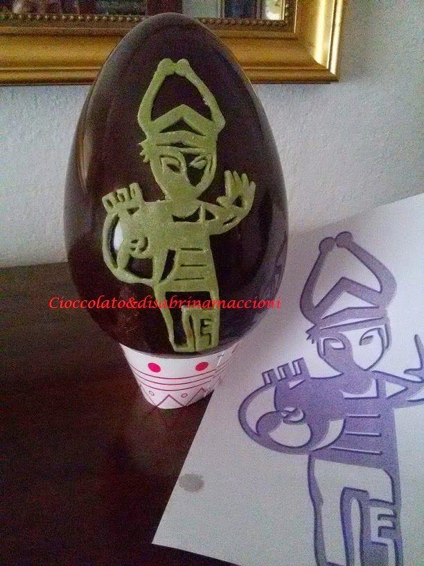 Cioccolato e.............. : Uova di pasqua create da me