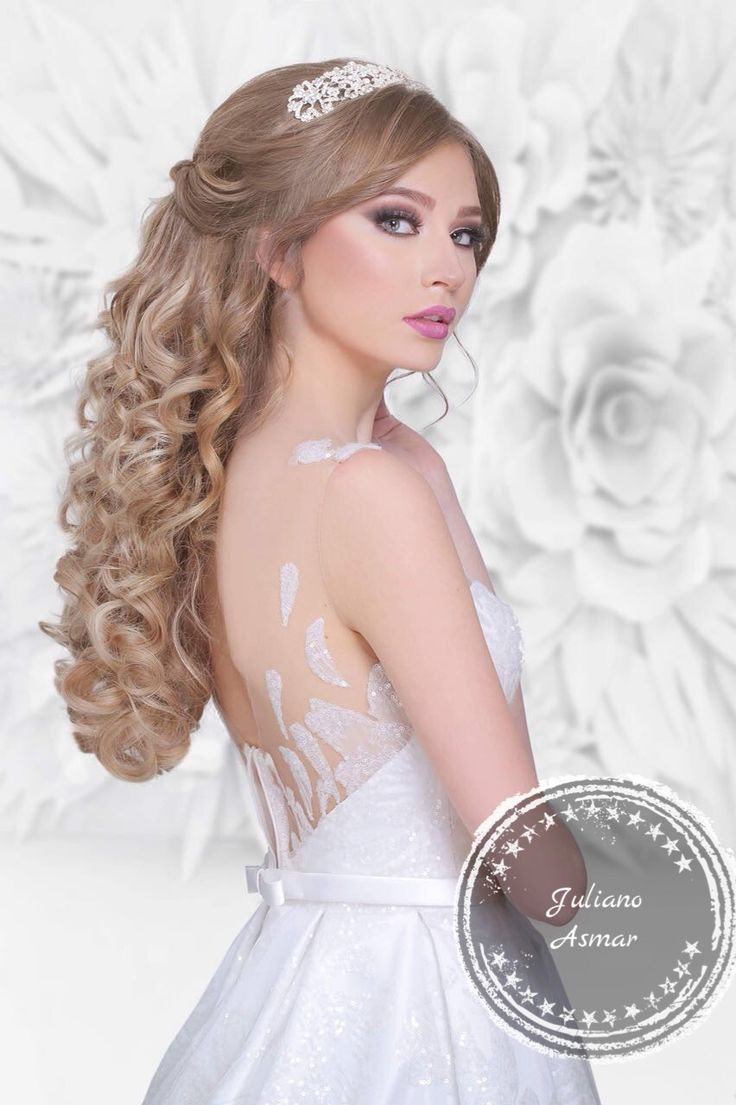 43 best Hair and make up images on Pinterest | Bridal hairstyles ...