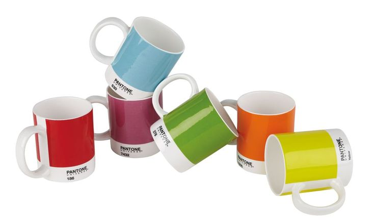Selected ideas for Christmas gifts. Pantone Mugs