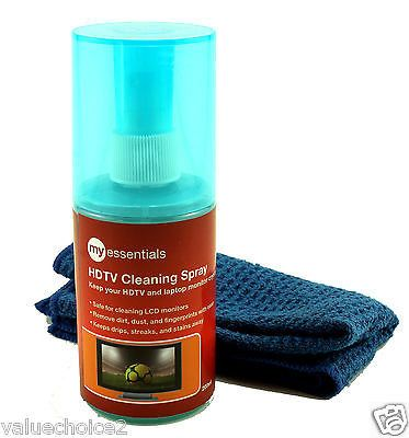 Flat Screen Lcd Led Hd Tv Spray Wipe Cleaning Cleaner