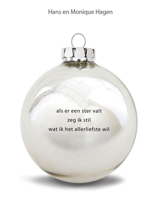 Plint - Kerstbal 'wens'