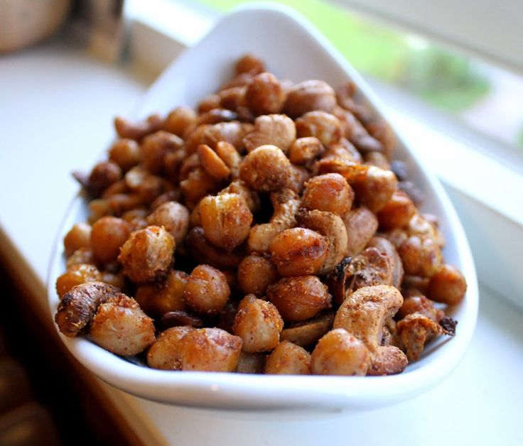 Recipe Healthy Snacks Roast Chickpeas Spicy Beans Cashew Party Snacks