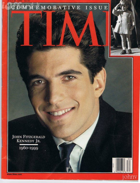 John Fitzgerald Kennedy, Jr. (November 25, 1960 – July 16, 1999), often referred to as JFK Jr., was an American socialite, magazine publisher, lawyer, and pilot. The elder son of U.S. President John F. Kennedy and First Lady Jacqueline Lee Bouvier Kennedy, Kennedy died in a plane crash along with his wife Carolyn Bessette-Kennedy and his sister-in-law Lauren Bessette, on July 16, 1999.