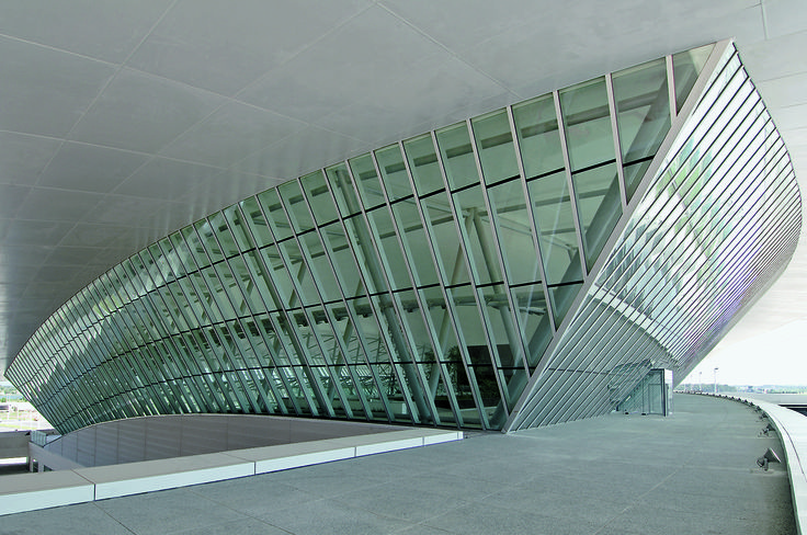 Carrasco International Airport | Rafael Viñoly Architects | Building detail. Photo: Daniela Mac Adden