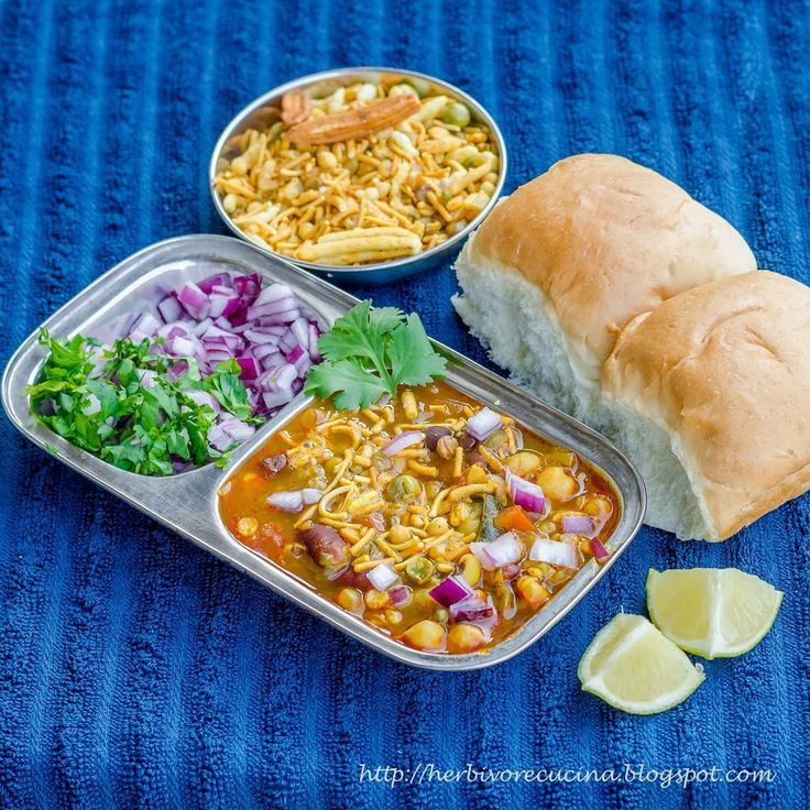 "Misal (Marathi:मिसळ, meaning ""mixture""), is a delicacy in the western Indian state of Maharashtra. The dish is eaten for breakfast or as..."