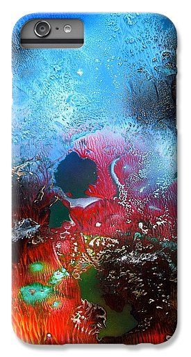 World Of Reefs IPhone 7 Plus Printed with Fine Art spray painting image World Of Reefs by Nandor Molnar (When you visit the Shop, change the orientation, background color and image size as you wish)
