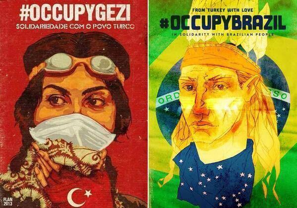 #occupygezi #occupybrazil