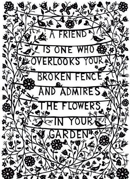 A friend.