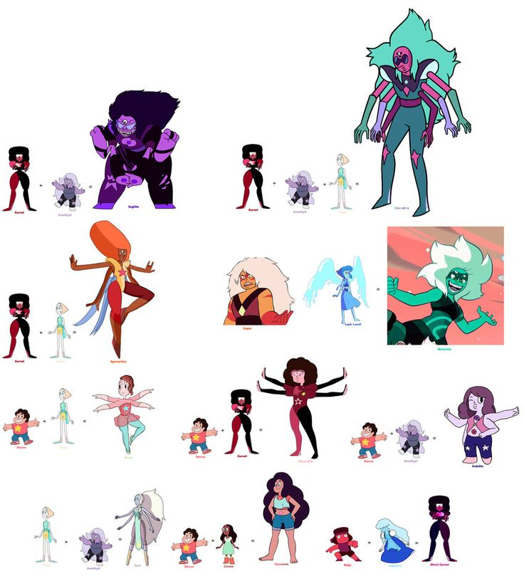 Crystal Gems Fusions 2 by BFDIFan1234 on DeviantArt