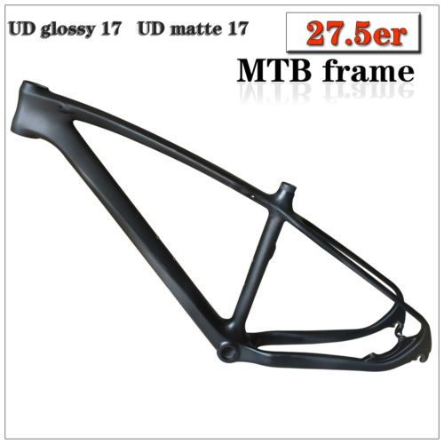 """New t700 #carbon cycling 27.5er #mountain bike #frame 17"""" mtb bicycle #frame ud ma,  View more on the LINK: http://www.zeppy.io/product/gb/2/252432842357/"""