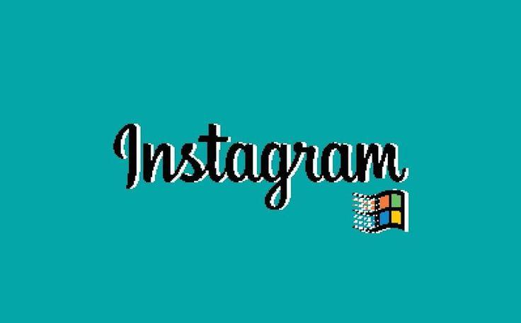 What Instagram Would Look Like If It Ran on Windows 95