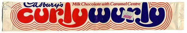 Cadbury's Curly Wurly 80's by 205gti306gti, via Flickr