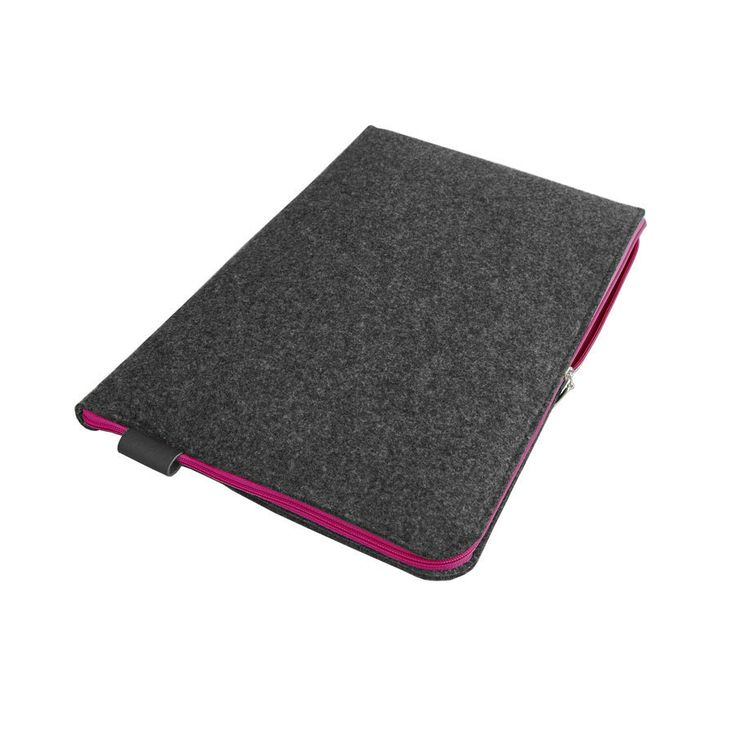 #macbook #pink #gray #filz #tasche #schutzhulle #macbookpro #sleeve by PurolDesignBags on Etsy