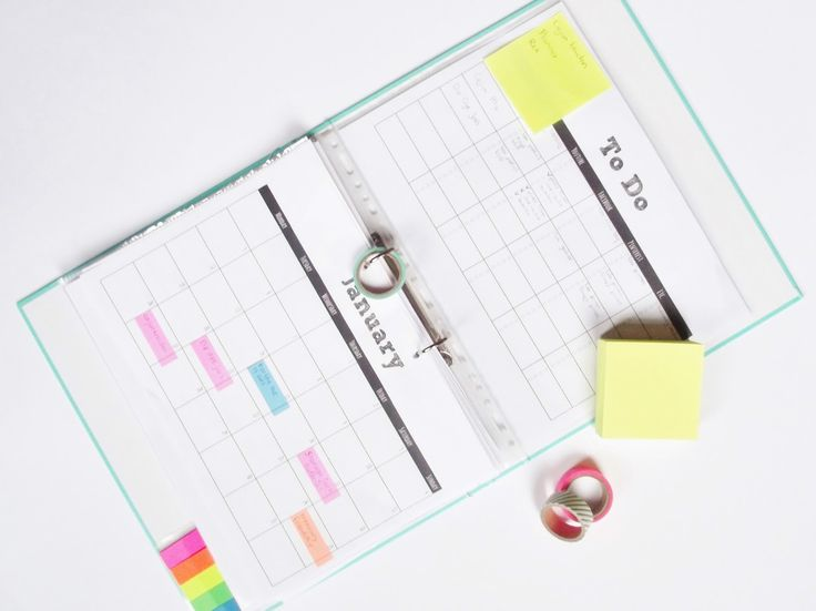 Blog Planner (Editorial Calendar) Free Printables