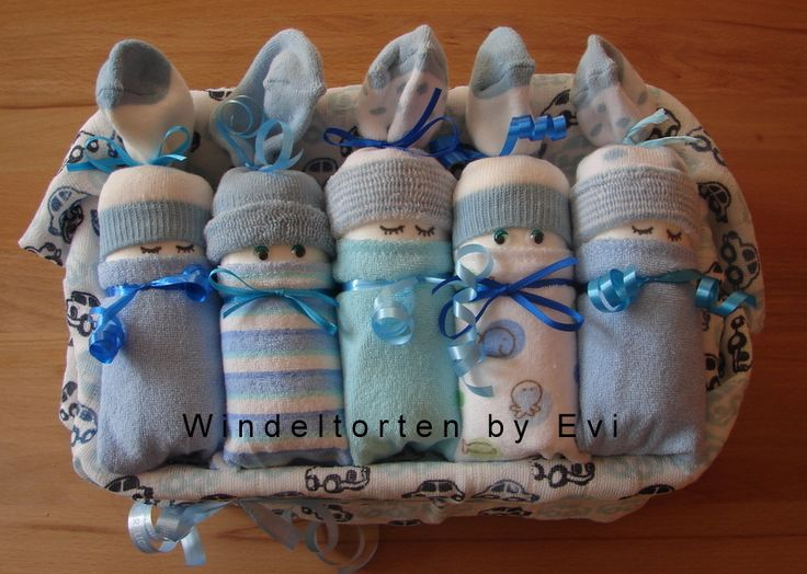 diaper babies – Windelbabys 'Boy', von Windeltorte…