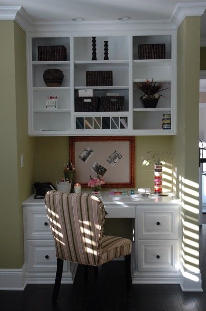 built in office area - redo for the kitchen desk?