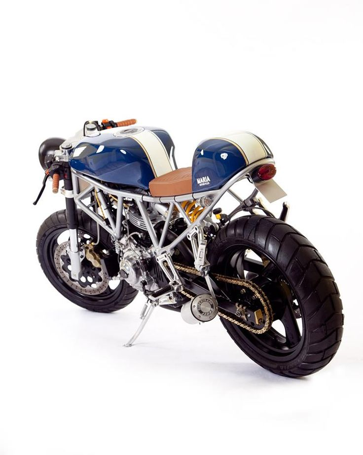 Cafe racer - Ducati 750 SS by Maria Motorcycles #motorcycle #motorbike