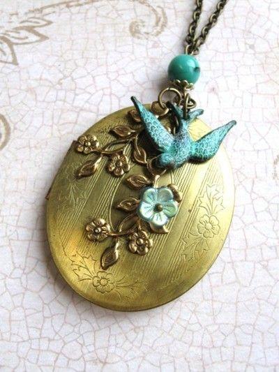 Beautiful bird pendant