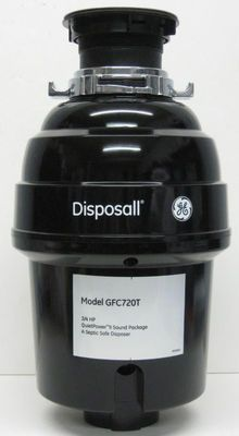 GFC720 GE Garbage Disposall Food Waste Disposer 3/4 HP Kitchen Sink