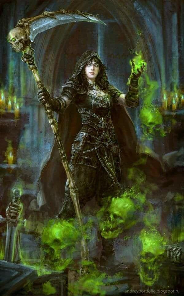 f Warlock Scythe casting urban midlvl
