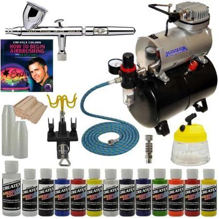 Iwata Airbrush Kit >> Iwata Hp Cs Eclipse Airbrush System Kit Compressor Airbrush Paint