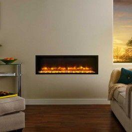 Gazco Radiance 105R Inset Electric Fire Edge Frame Room Set