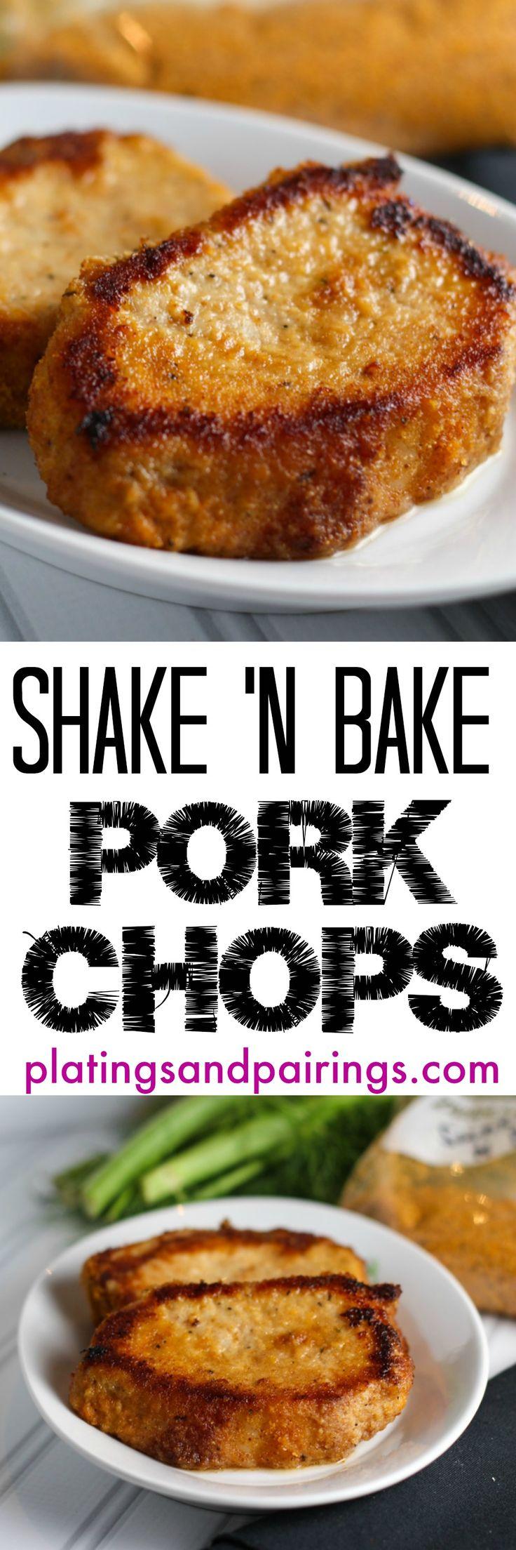 Homemade Shake N Bake - Crispy, Golden, Delicious Pork Chops!!! SO EASY to Make!
