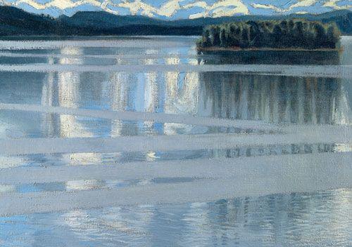 Akseli Gallen-Kallela: Lake Keitele