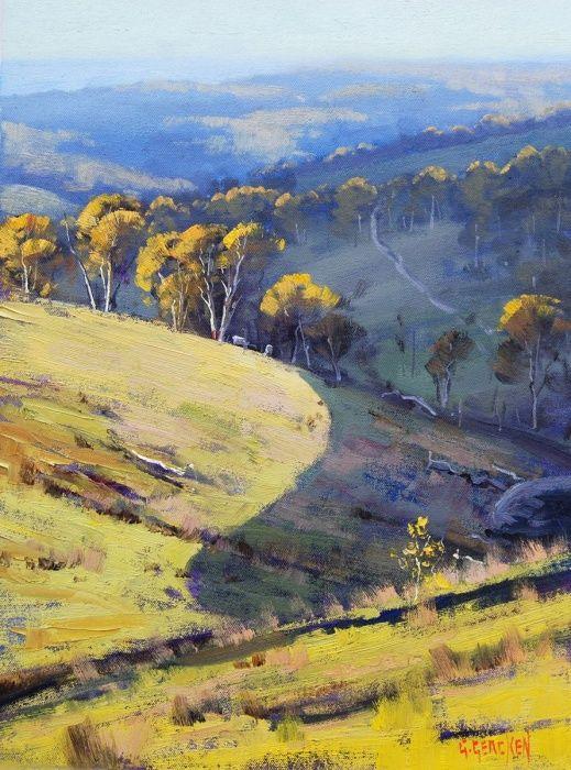 Sunlight & Shadows, Oil painting by Graham Gercken | Artfinder