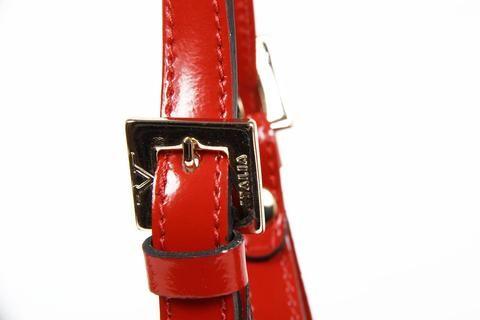 Versace 19.69 Abbigliamento Sportivo Ladies Top Handle Red Handbag - SPECCHIO ROSSO