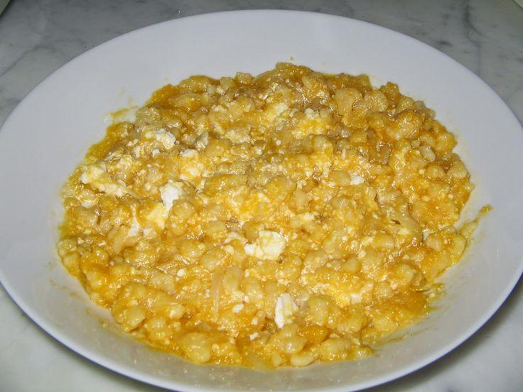 Non solo Cucine Isolane: Pasta con zucca e ricotta (specialità ragusana)