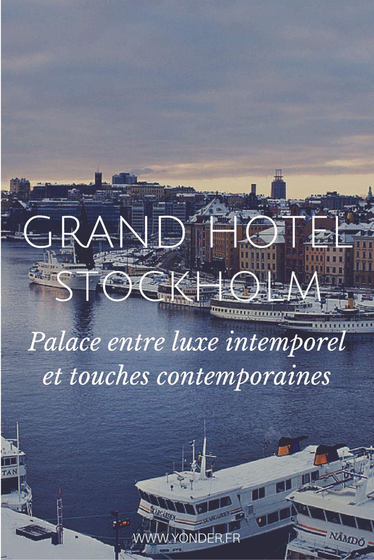 Hôtel / Grand Hotel Stockholm #Suède