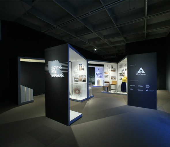 Movers and Shapers Exhibition_2008 by Sebastien Cantin, via Behance