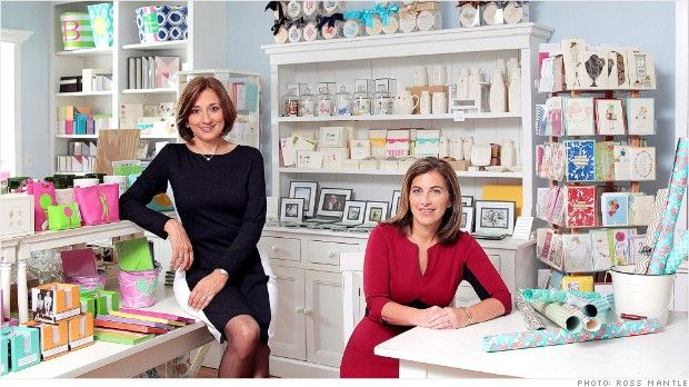 How two friends teamed up to open this made-to-order stationary shop.