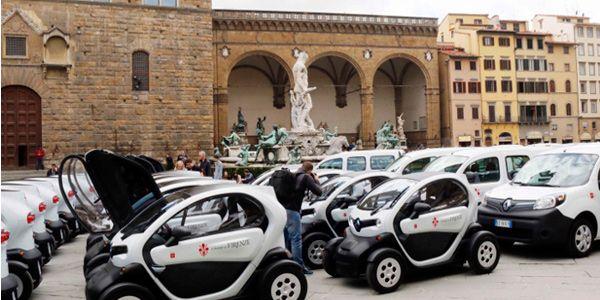 Auto elettriche: il Comune di Firenze adotta 70 Renault Twizy