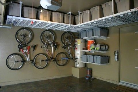 bin storage from ceiling | Garage Ceiling Storage | Best Storage Ideas