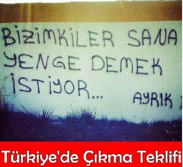 Türkiye'de Çıkma Teklifi Caps
