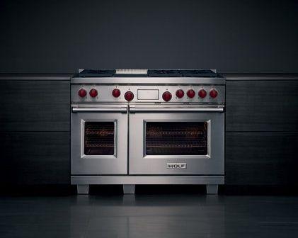 Fornuis Dual Fuel van Wolf - Product in beeld - - Startpagina voor keuken ideeën   UW-keuken.nl
